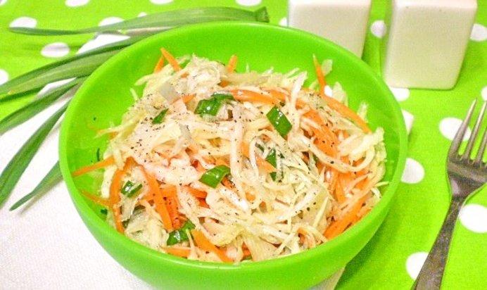 Салат Капустный При Диете. Рецепты диетических капустных салатов для похудения