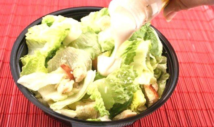Салат цезарь с майонезом рецепт