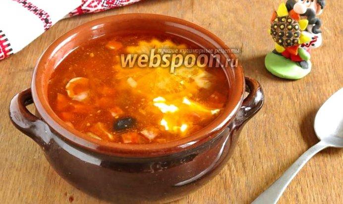 Солянка простой рецепт с фото пошаговый