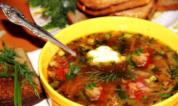 Как приготовить борщ пошаговый рецепт с тушенкой