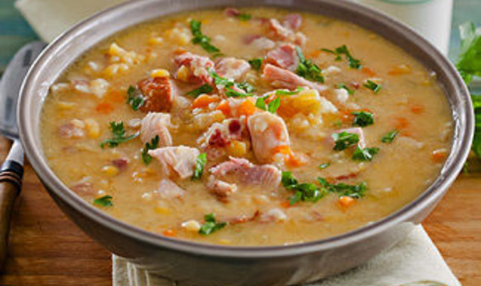 Суп гороховый с копченостями в мультиварке рецепт с пошагово
