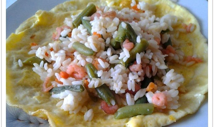 Рис с креветками рецепт с пошагово