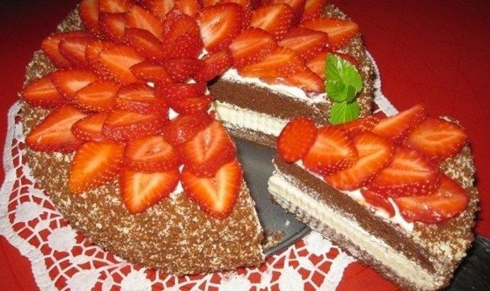 Американский торт рецепт пошагово в домашних