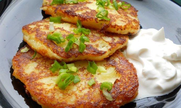 Деруны с сыром рецепты