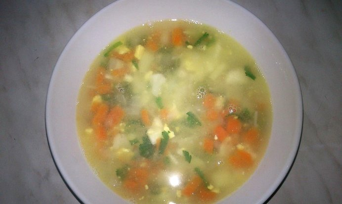 Суп яйцом рецепт пошаговым фото