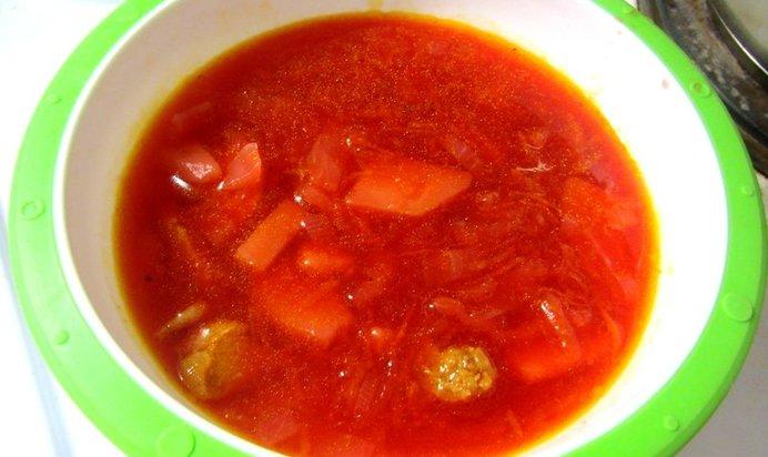 Борщ домашний рецепт фото пошагово