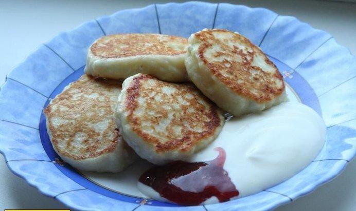Рецепт сырников из творога без муки в духовке с пошагово