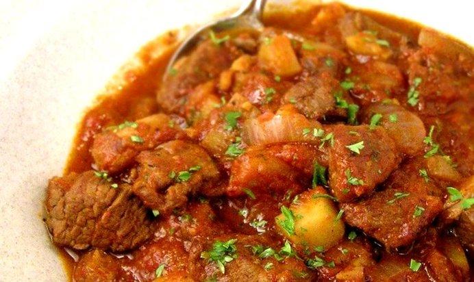 Венгерский гуляш из свинины рецепт с фото пошагово