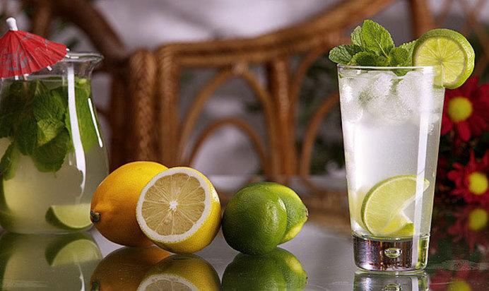Простой Рецепт мятного лимонада пошагово с фото