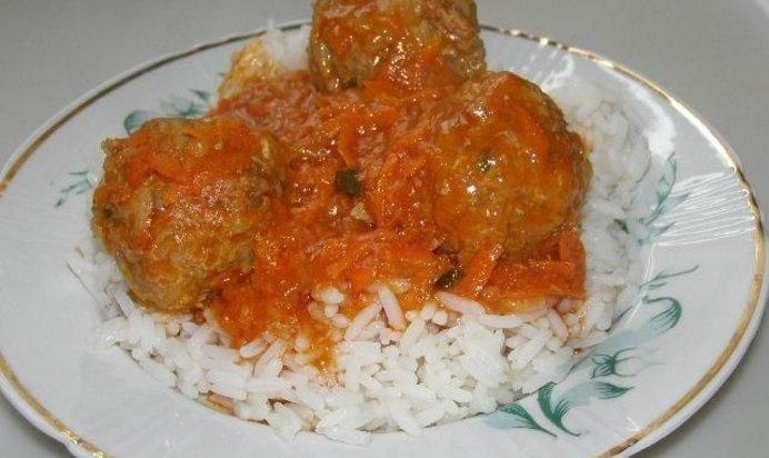 Тефтели рецепт с пошагово с рисом