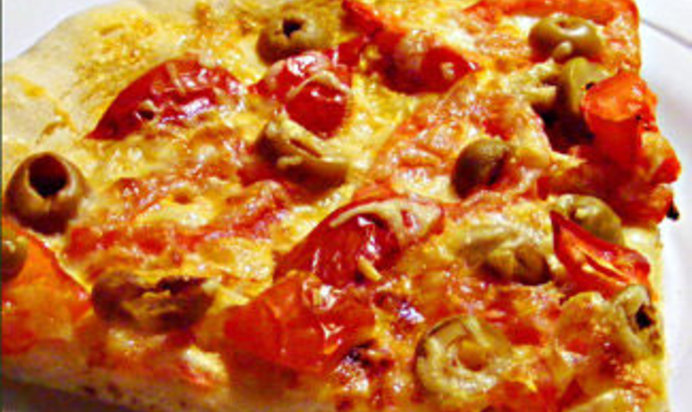 Домашняя пицца рецепт фото кефире