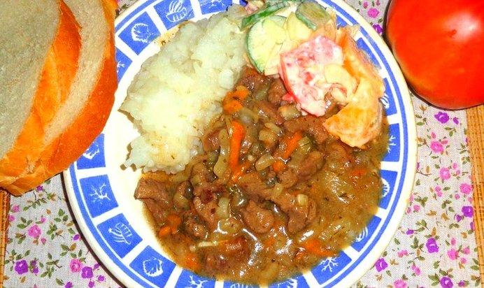 Рецепт гуляша из свинины с пошагово