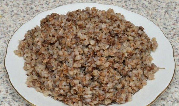 Гречневая каша на воде рецепт пошагово