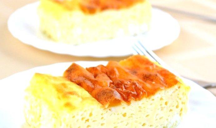 Простой Рецепт очня пышного омлет пошагово с фото