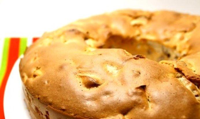 Шарлотка с яблочным вареньем рецепт пошагово
