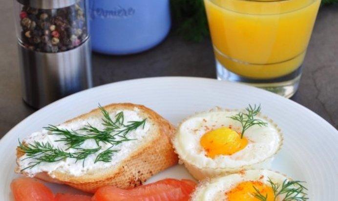 Завтрак из яиц рецепты с пошагово