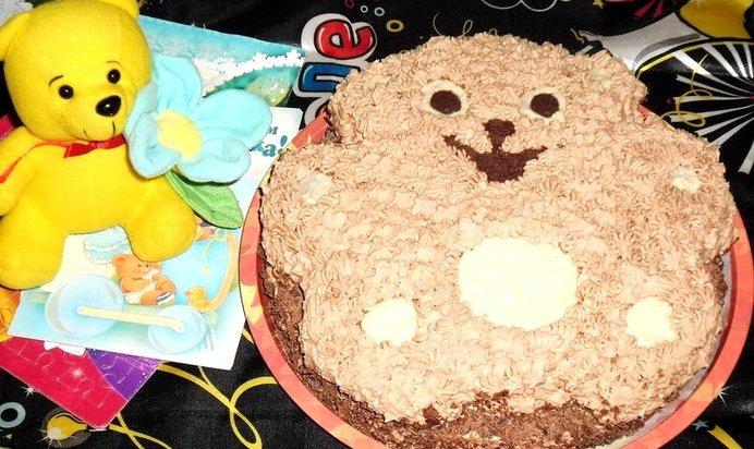Торт мишка рецепт и фото