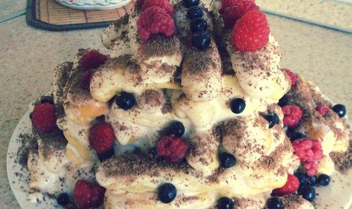 Рецепт торта дамский пальчики в домашних условиях