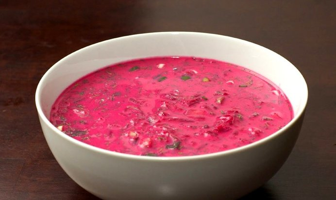 Борщ фиолетовый рецепт с фото