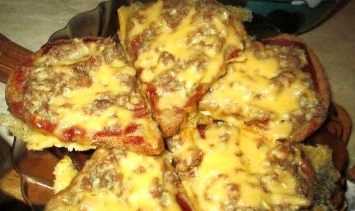 Бутерброды рецепты фото фарш