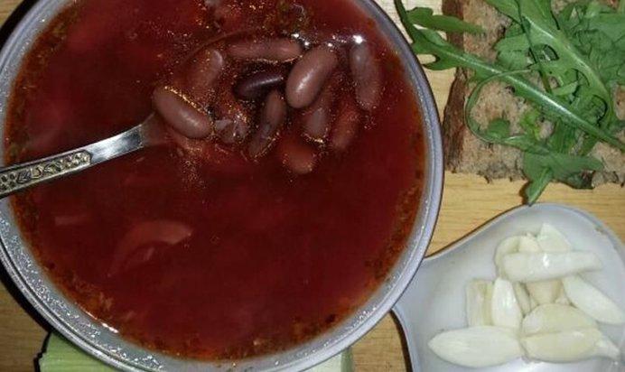 Рецепт постного борща с фото пошагово