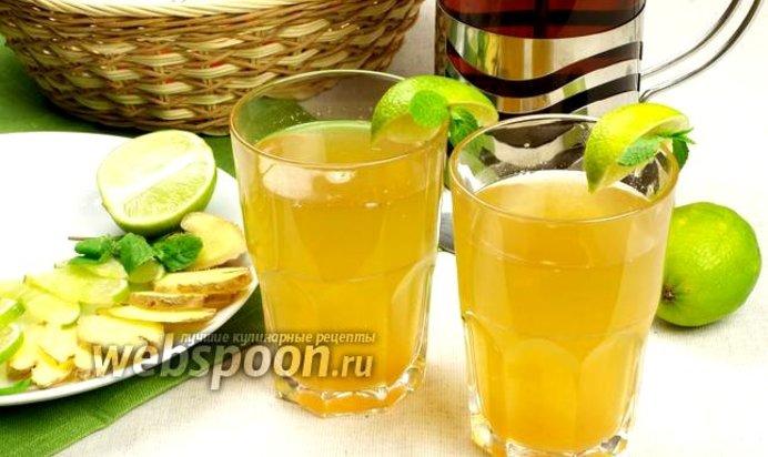 Жиросжигающий имбирный напиток для похудения