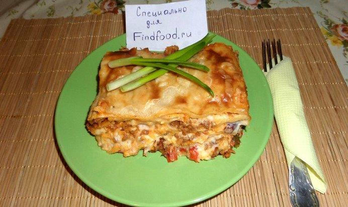 Рецепт лазаньи фото пошагово в домашних