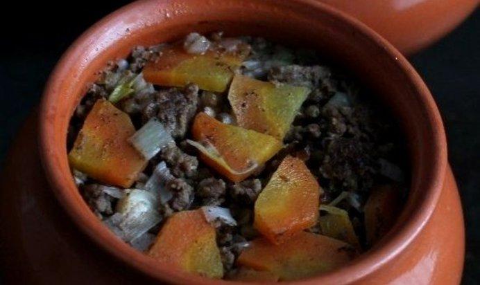 Блюда из гречки с фаршем в горшочках рецепты