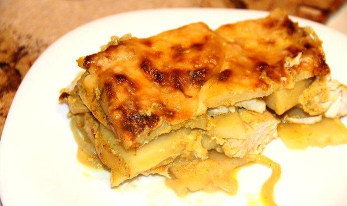 Картофельная запеканка по-французски и 15 похожих