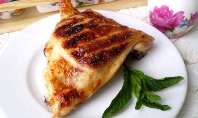 Куриные бедра на мангале рецепт