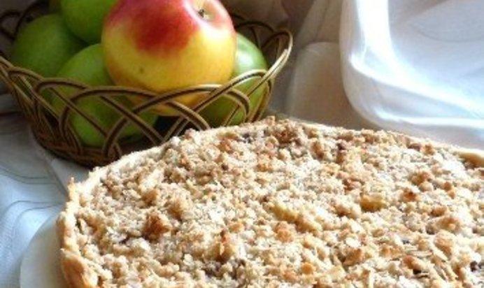 Творожно яблочный пирог рецепт с фото