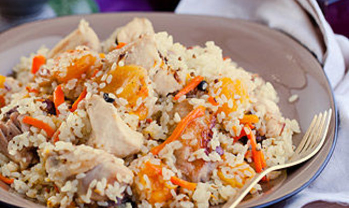 Плов рецепт с курицей простой рецепт пошагово