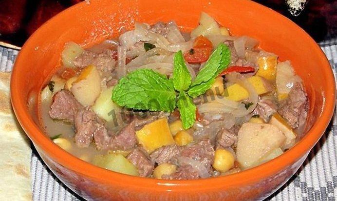 пити из баранины рецепт с фото пошагово