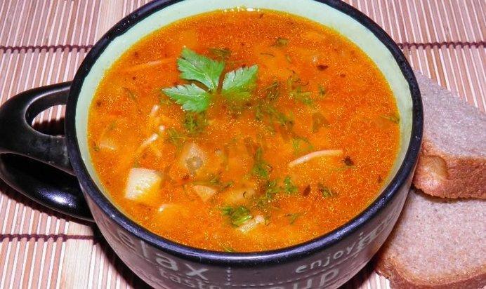 Суп с лапшой в мультиварке рецепты пошагово