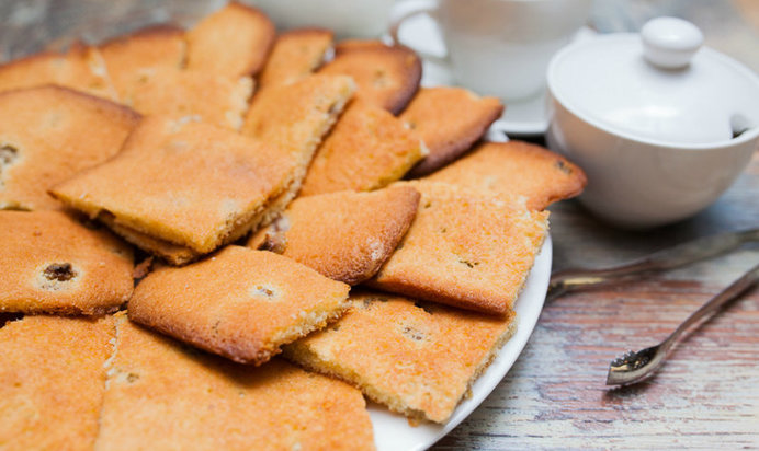 Легкий домашнего печенья