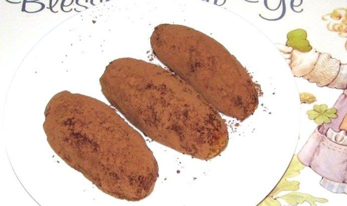 Печенье картошка с вареной сгущенкой