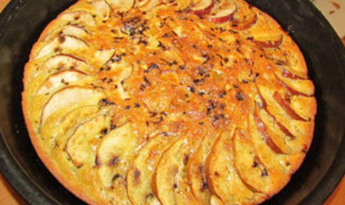 Запеканка с яблоками рецепт с фото