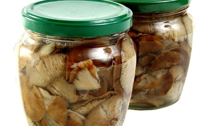 Маринованные грибы пошаговое с