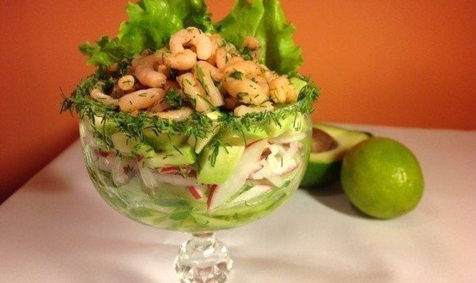 Салаты из коктейля морепродуктов рецепты простые и вкусные