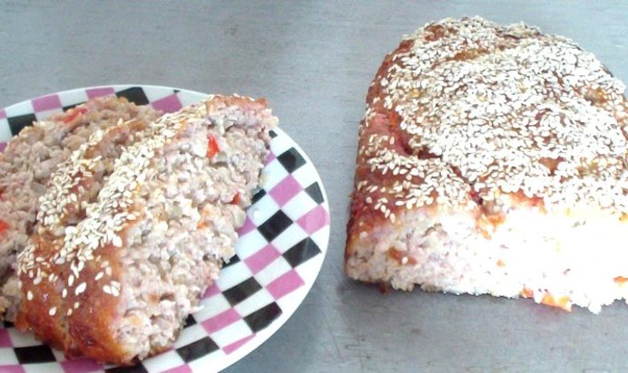 Рецепт мясного хлебца с пошагово