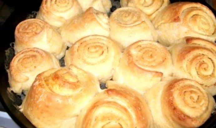 Быстрые булочки к чаю в духовке рецепт с фото пошагово в