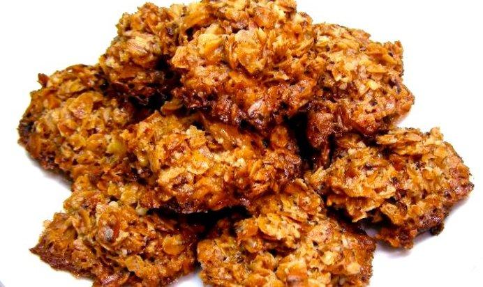 Овсяное печенье из овсяных хлопьев рецепт с фото пошагово без масла