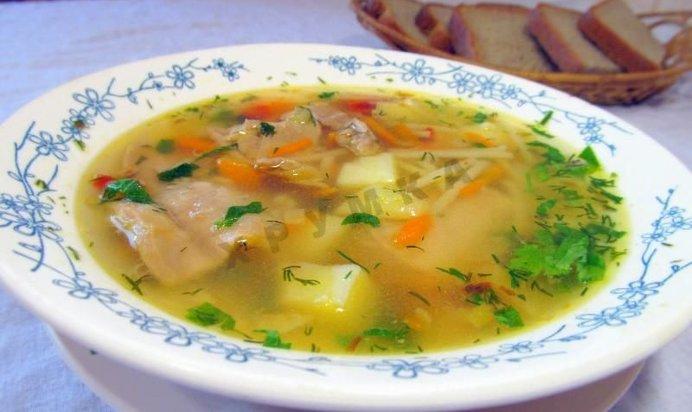 суп из фасоли рецепт с вермишелью