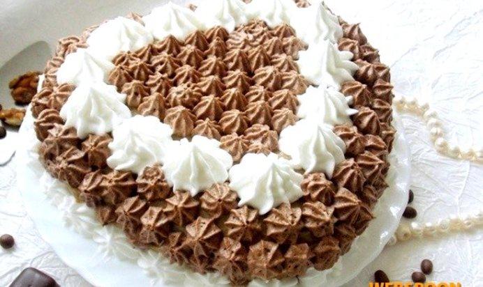 Рецепты тортов с кремом с фото с персиками