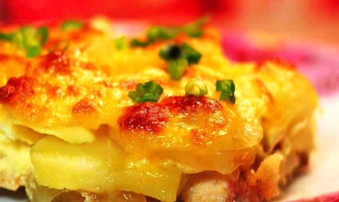 Картофельная запеканка рецепт пошаговый