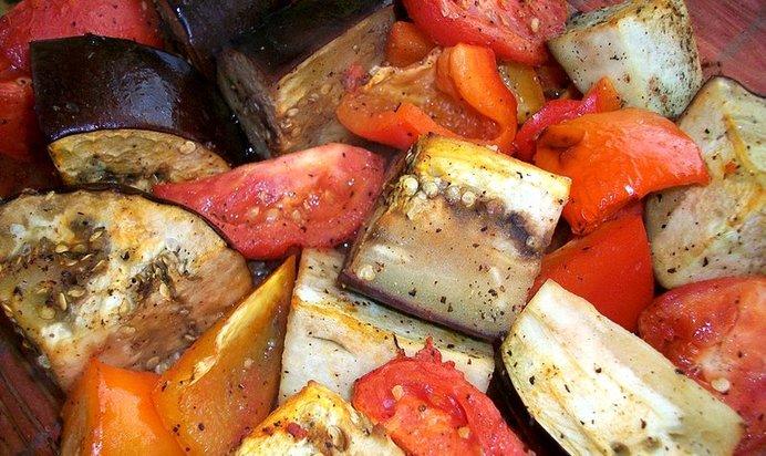 Овощи в фольге в духовке рецепт пошагово