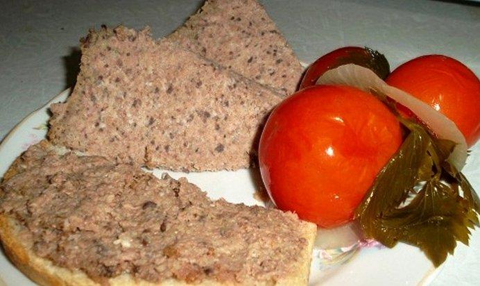 Рецепты печеночного паштета из свиной печени в домашних условиях 474