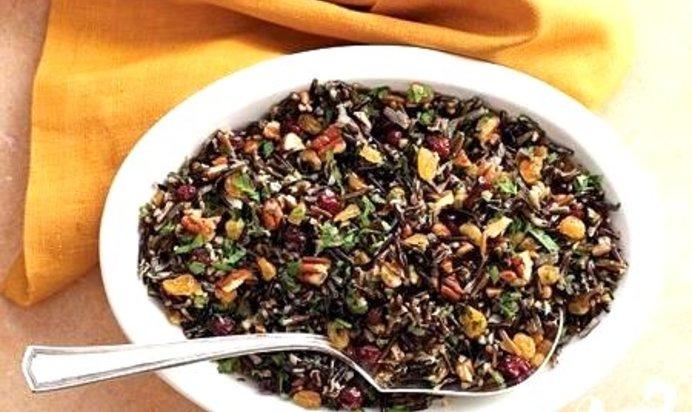 Блюда из черного риса рецепты с фото