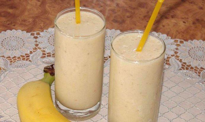 Банановый коктейль с молоком рецепт с пошагово в домашних условиях
