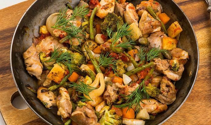 Как приготовить поджарку изощей для супа